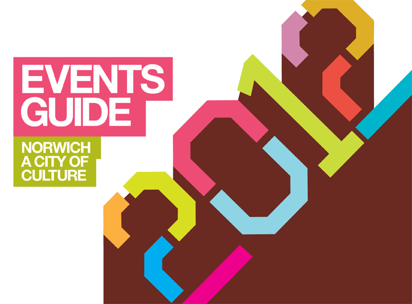 design for events, event promotion, norwich city council, graphic design, 2012, city of culture, graphic design norwich, design agency norwich