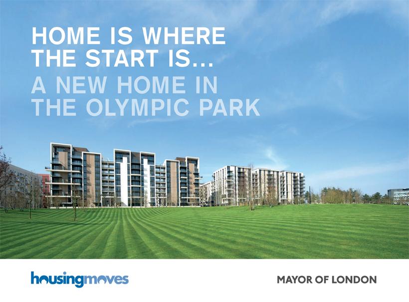 london 2012, olympics, branding, brochure design, mayor of london, housingmoves, public sector, local government design agency, norwich