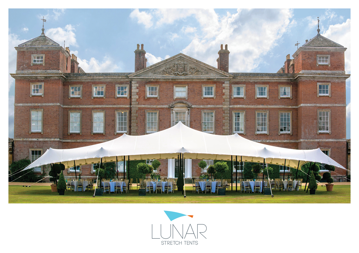 stretch tents, norwich, lunar, branding, brochure design