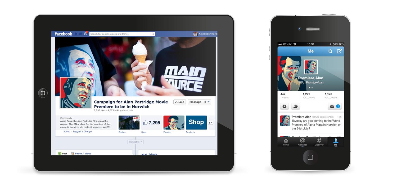 social media campaign, norwich
