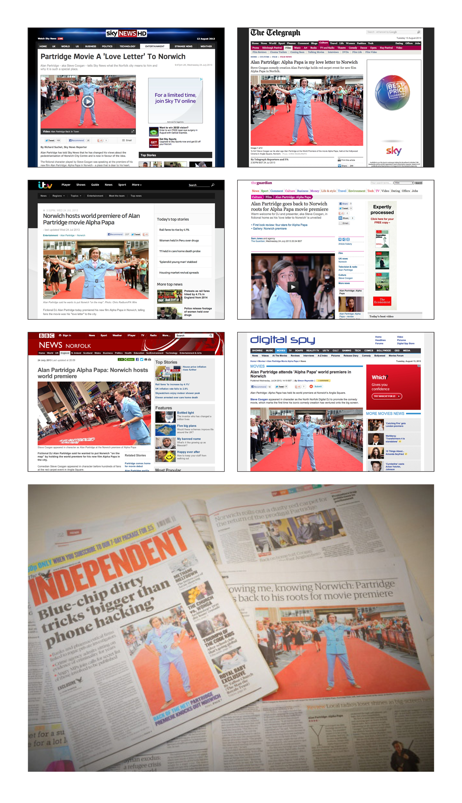 nationa media and pr coverage