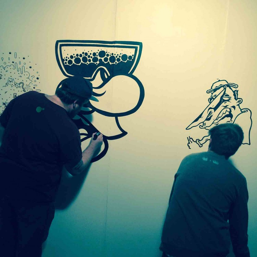 live-drawing-art-pens-walls-moosey-art-norwich-preview-stew-gallery-art-in-my-mouth
