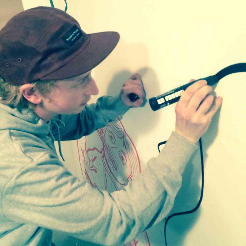 shhhh-collective-sam-harrons-norwich-tropico-moosey-art-preview-show-live-art-drawing