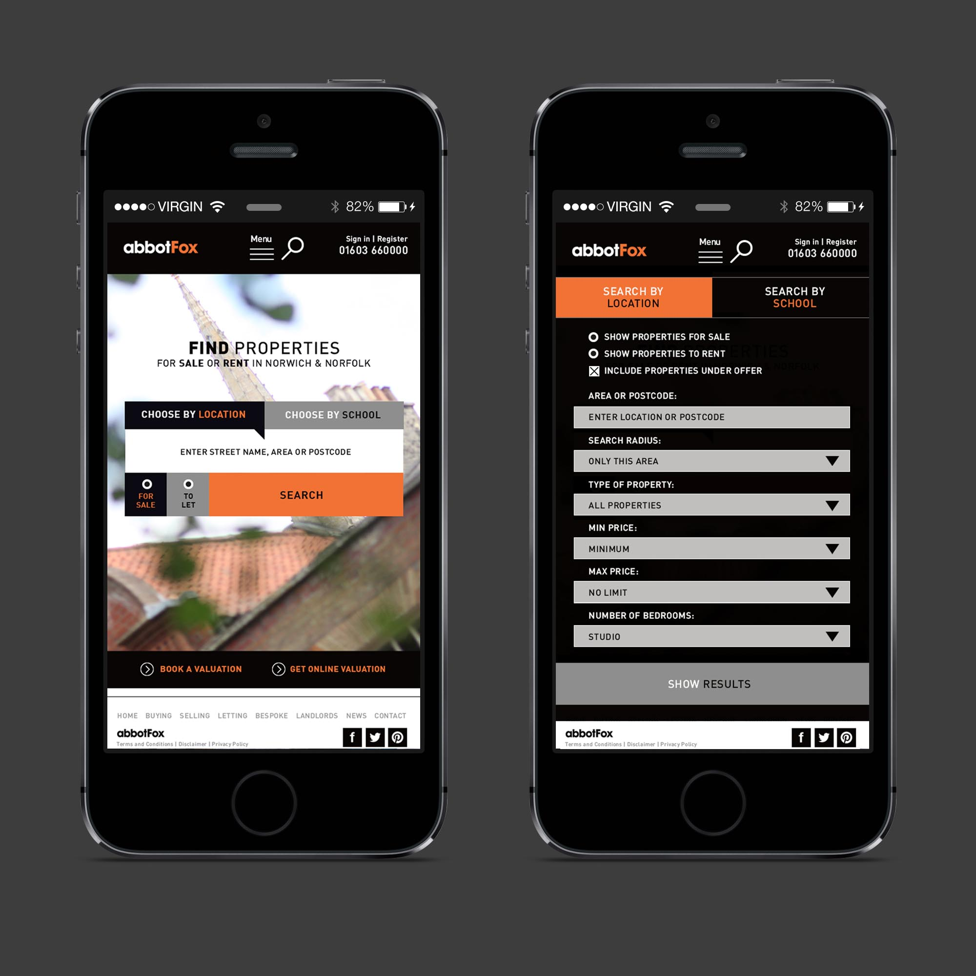 responsive web design for mobile in norwich