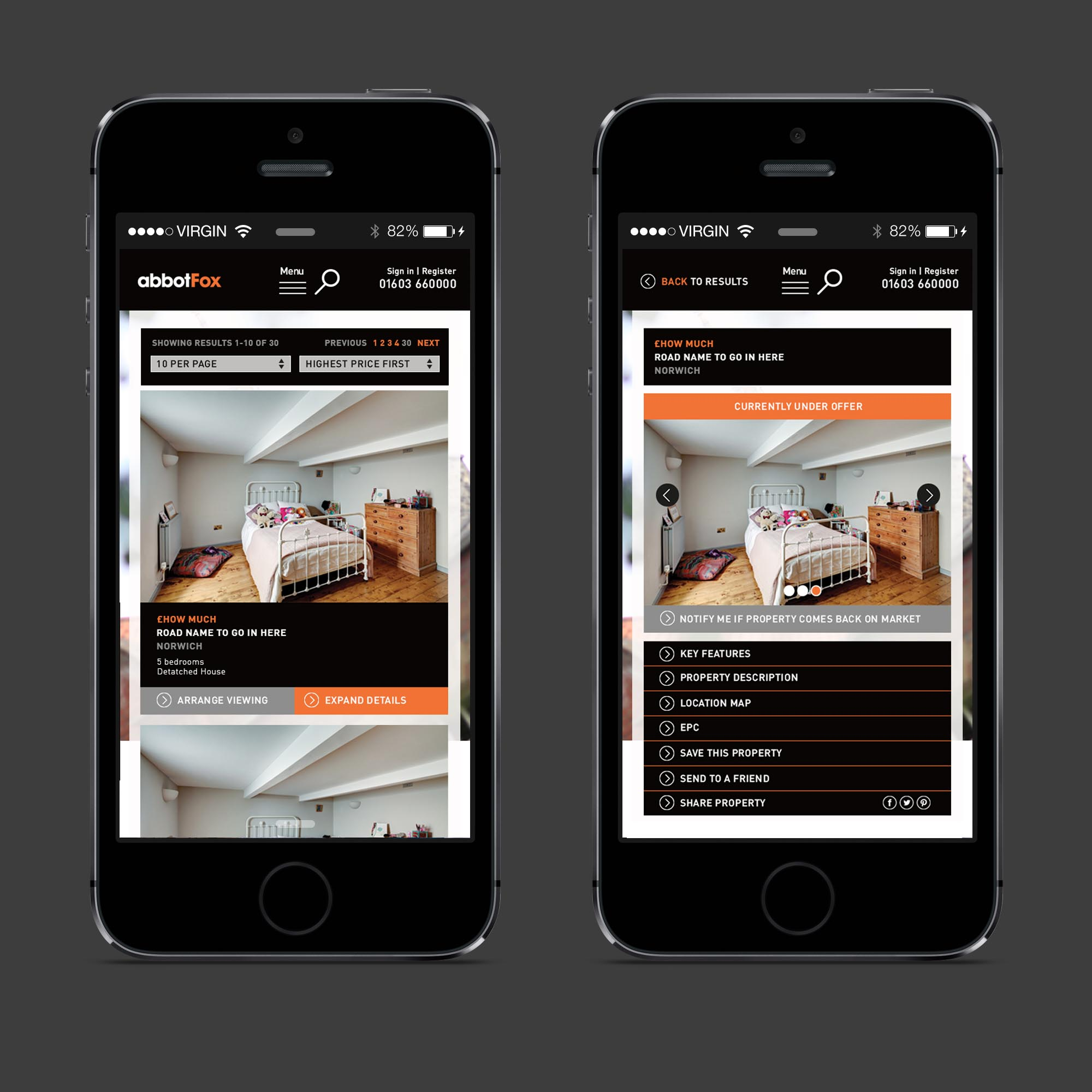 web design for mobile, norwich