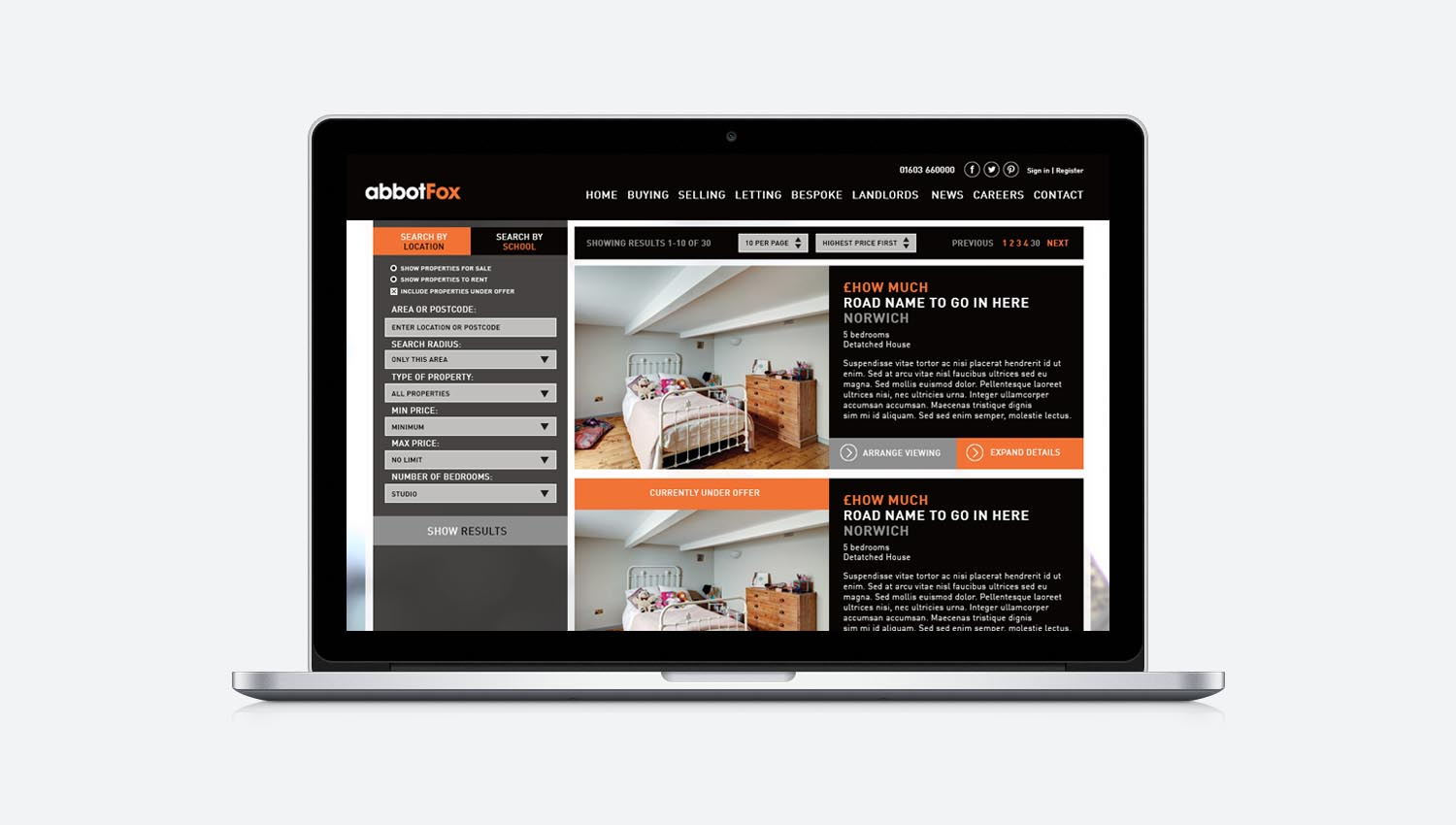 digital design for web and mobile norwich
