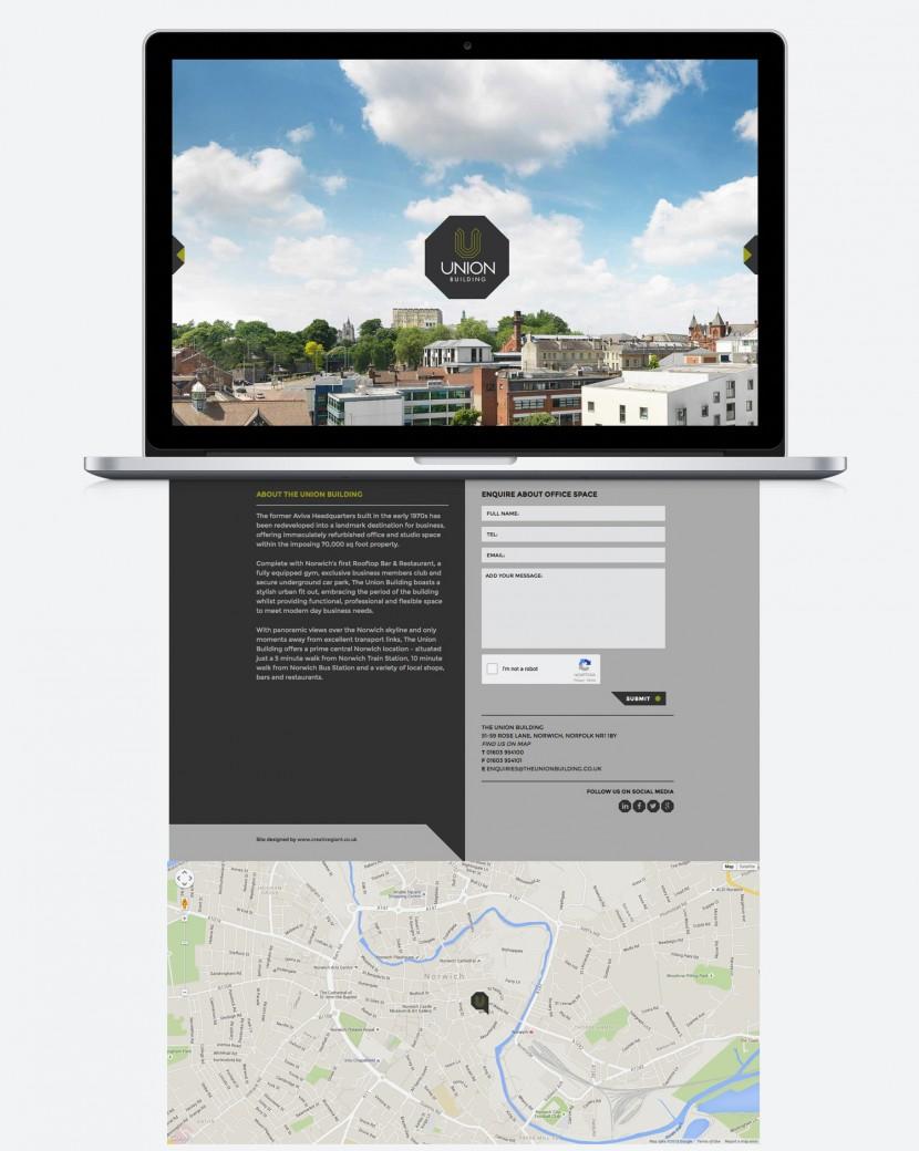 website design norwich, logo design norwich, branding agency norwich, office space, geometric design