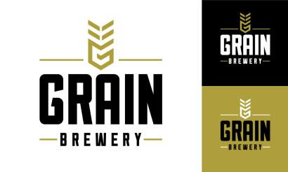 Grain Brewery Logo Design Brand Strategy Branding Visual Identity